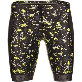 Zoot Wave Pantalones cortos de flotabilidad Hombre, black/high-viz-yellow
